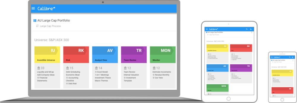 Cloud and Companion App — Calibre RMS | Research Management System