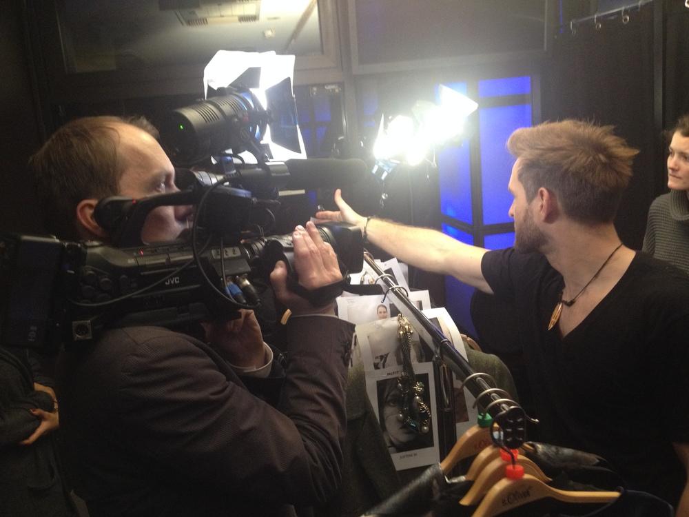 Backstage mit Showchoreograph Swen Fischer