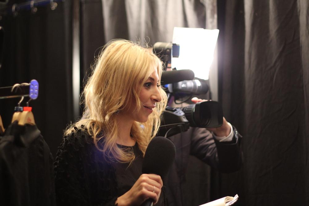 Backstage mit Yelda Yilmaz SANTE Naturkosmetik