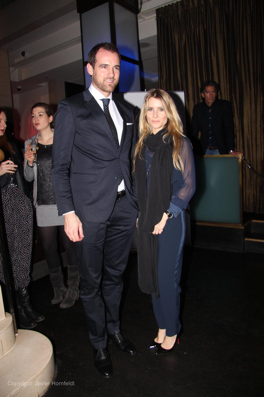 Fußballstar Christoph Metzelder mit seiner Lebensgefährtin