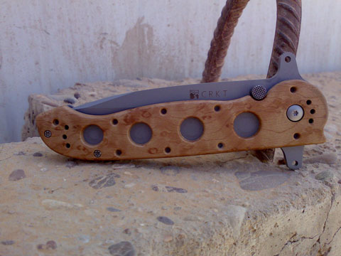 CRKT M16-14 open