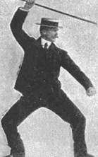 Bartitsu Cane Stance