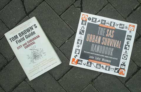 Tom Browns City and Suburban Survival and The SAS Urban Survival Guide