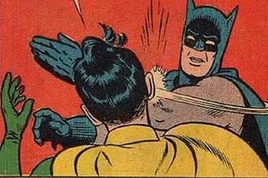 Batman Bitch Slap