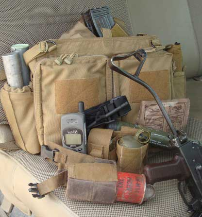 Civilian Contractor Red Zone Bug Out Bag