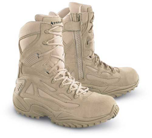 Converse Side zip Tactical Boots