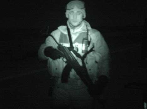 NVG SHOT SWEDE OPERATOR