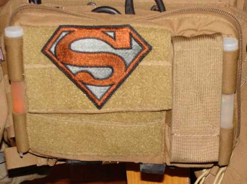 Zulu-Nylon-Gear-Mega-Admin-Pouch-outside-with-gay-superman-patch