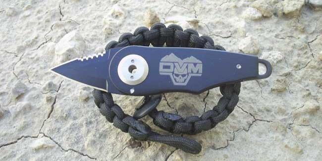 DVM Logo S.O.L. Knife