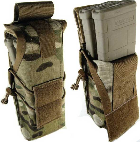Zulu-Nylon-Gear-M4-Double-Magazine-Pouch