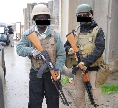civilian security contractors iraq