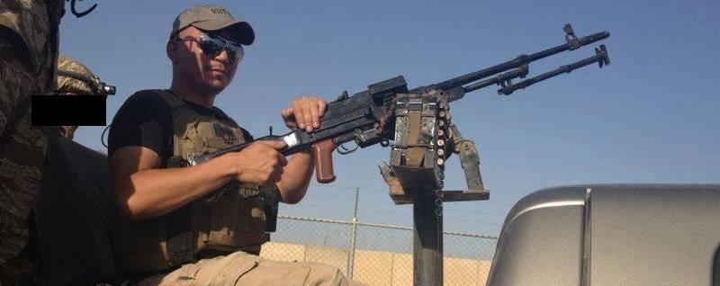 Senior Instructor James Price in Iraq