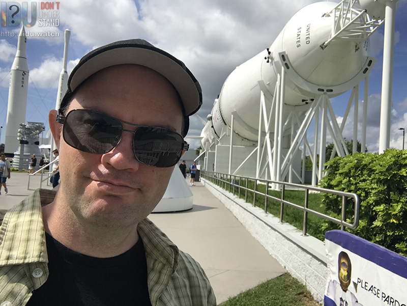 A Saturn I-B at the Kennedy Space Center in Florida.