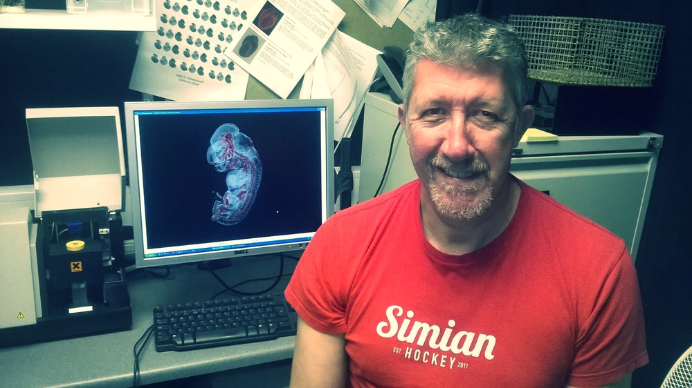 Harris Morrison  is a Mesoscopy application specialist. He supports Epifluorescence, Mesoscopes and Slide-scanning. Harris also looks after our  OPT  service, please ask him for any help or advice about this.