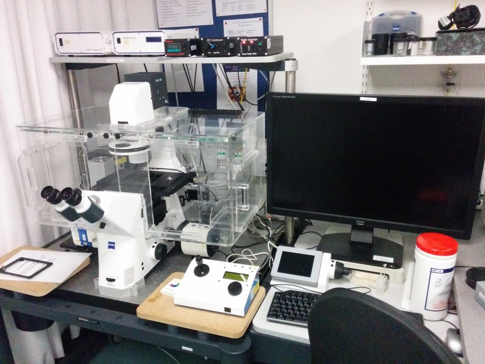 Equipment    We host a broad range of systems, ranging from mesoscopes, microcsopes to super resolution.