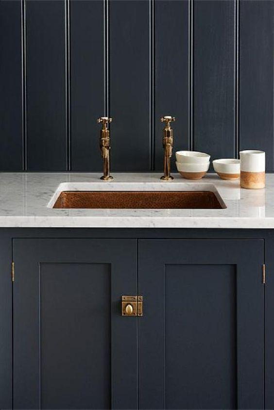 Kitchen trends copper accent anna wilson interiors - Applying the pretty copper accessories into your kitchen ...