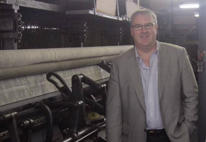 Scott Davidson - MD of MYB Textiles