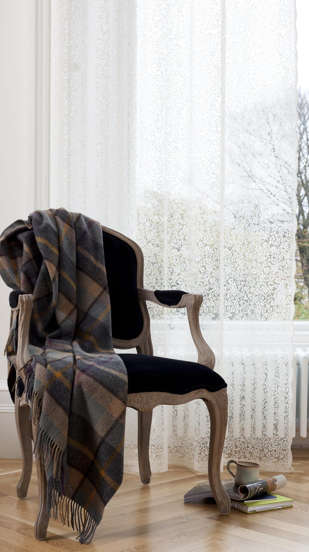 Anna Wilson Interiors Blog - MYB Textiles - lace panel .JPG