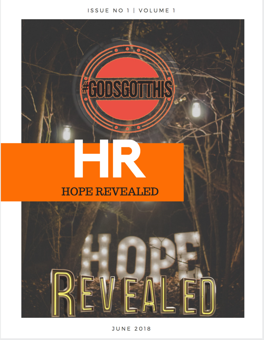CLICK TO OPEN THIS ISSUE OF HR •HOPE REVEALED