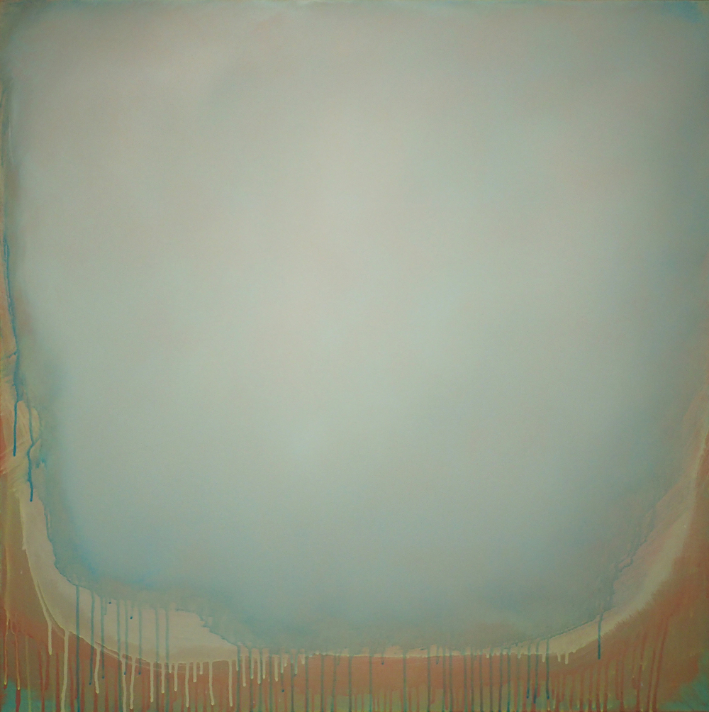"Silent Search - No. 35, 2015, acrylic on canvas, 40"" x 40"""