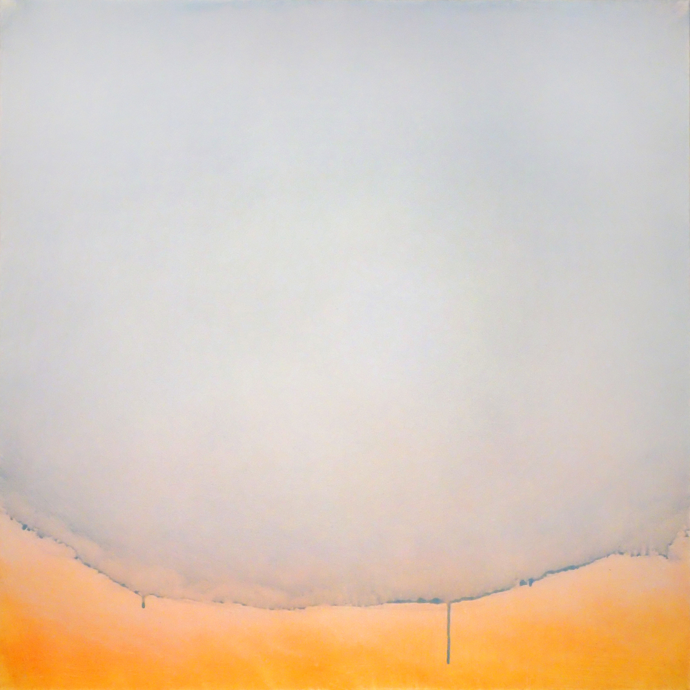 "Silent Search - No. 27, 2015, acrylic on canvas, 30"" x 30"""