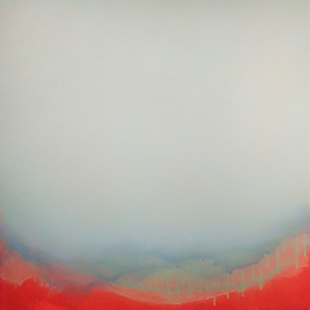 "Silent Search - No. 45, 2015, acrylic on canvas, 30"" x 30"""