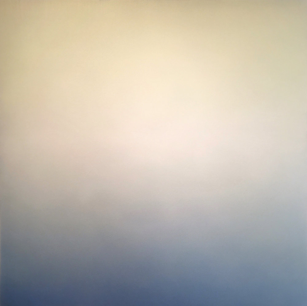 "Silent Search - No. 75, 2016, acrylic on canvas, 40"" x 40"""