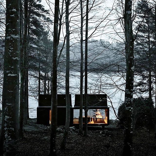 VIPP Shelter.  A nature retreat designed down to the very last detail. A place with nature omnipresent and the landscape purposely framed. @vipp 🏴