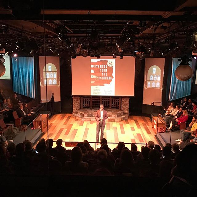 Still my favorite place to spend a conference. View from the tech booth. #keepmeinthecrate #frank2017