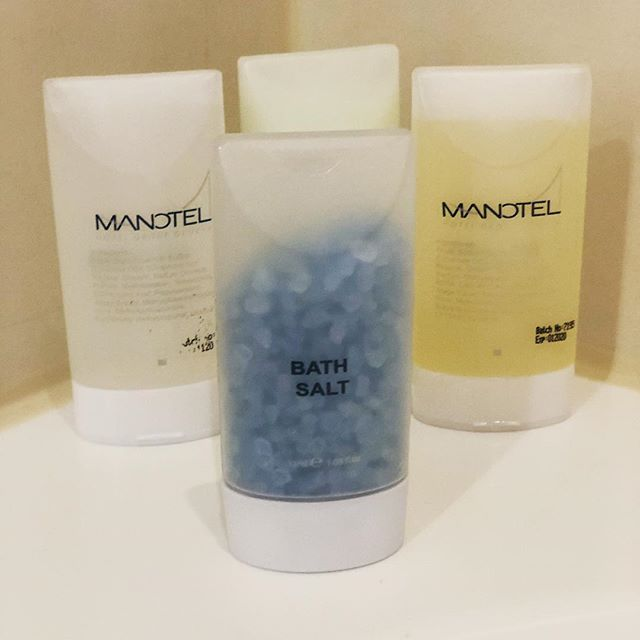 Bath salts in my Swiss hotel. Never seen that as a default option before. Do they know I came from Florida? And are they expecting me to eat them?