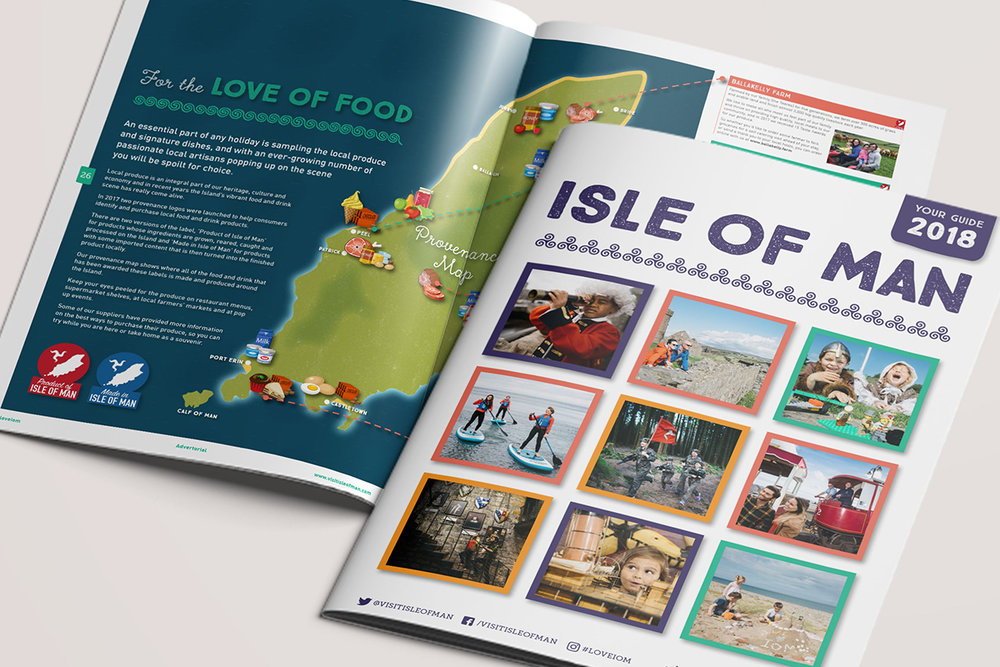 Visit Isle of Man tourism brochure and accomodation directory