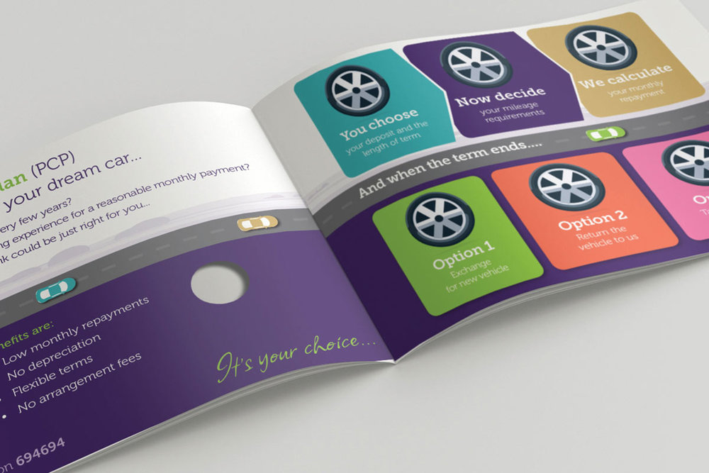Conister Bank Purple Plan campaign