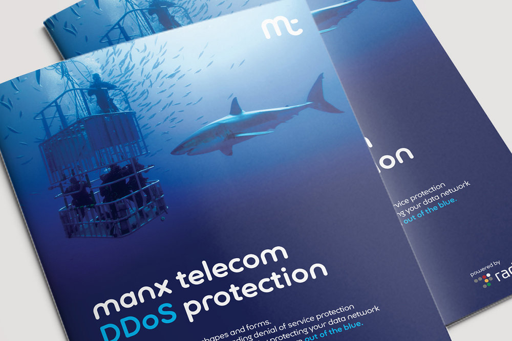 Manx Telecom DDOS cyber security product campaign