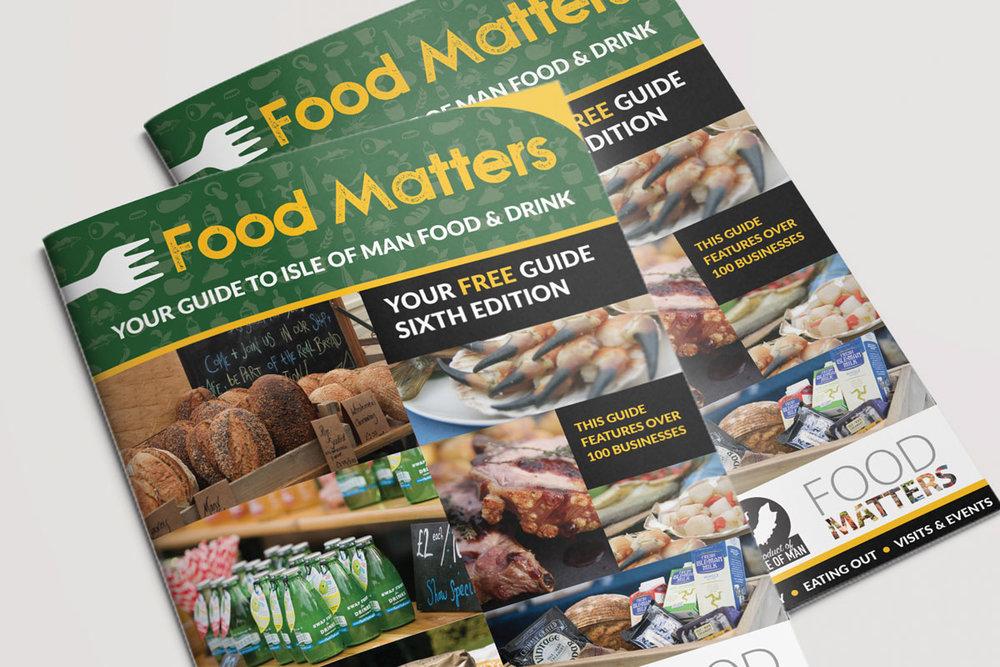 Isle of Man Food Guide design