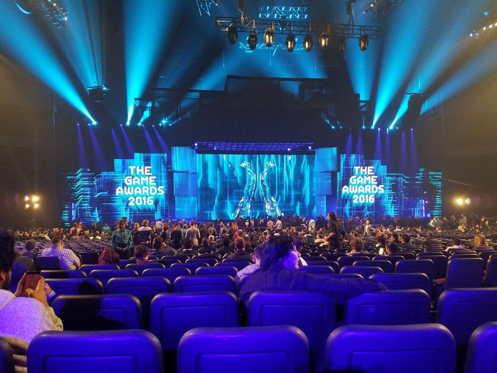 My view from the Game Awards