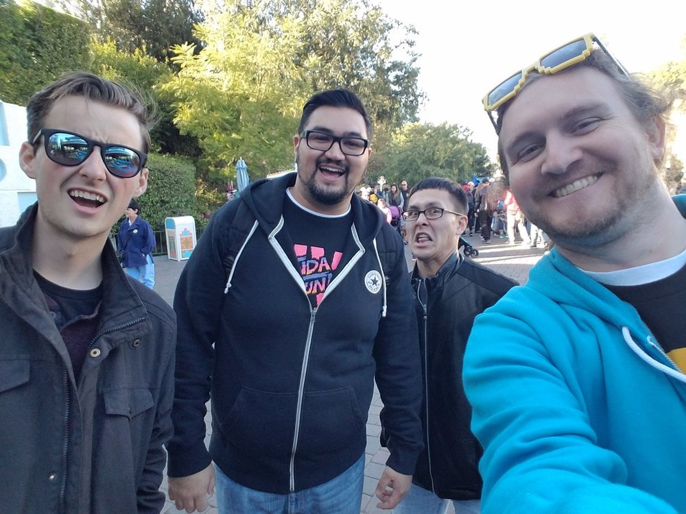 Ben, Jonathan Ruiz, Franklin, and me