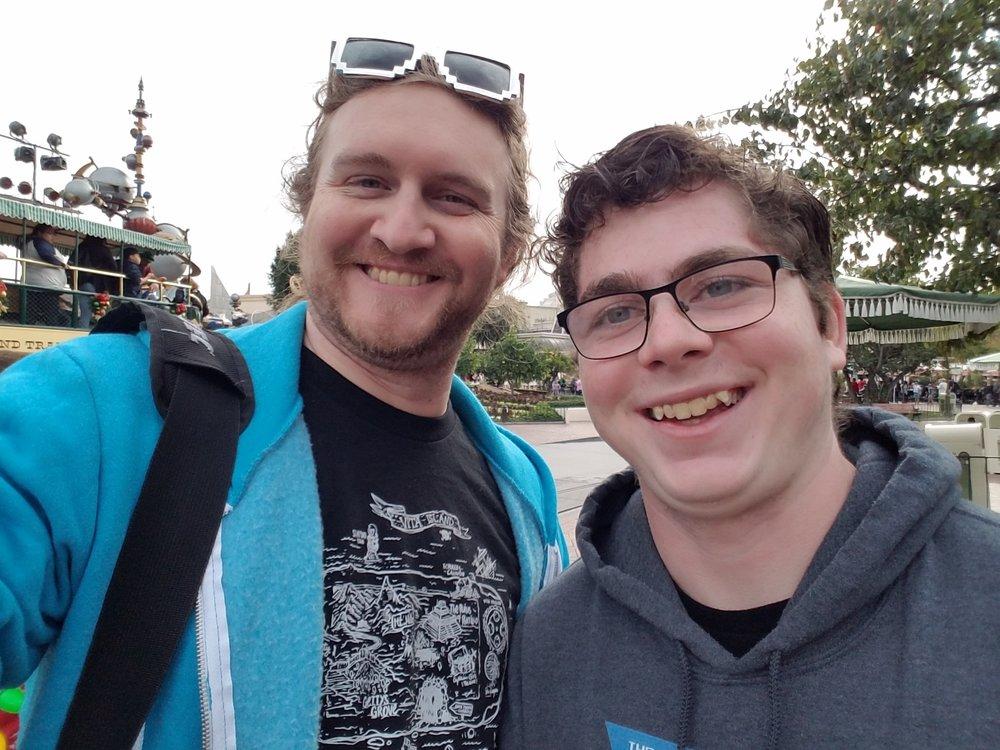 Me and Quinten Hoffman