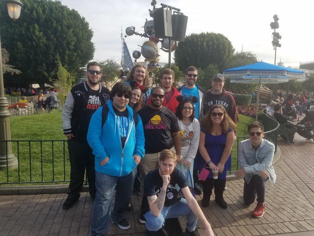 Kinda Funny Fans at Disneyland