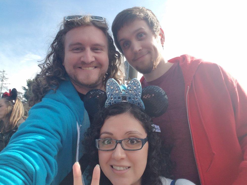 Me, Matt, and Vanessa
