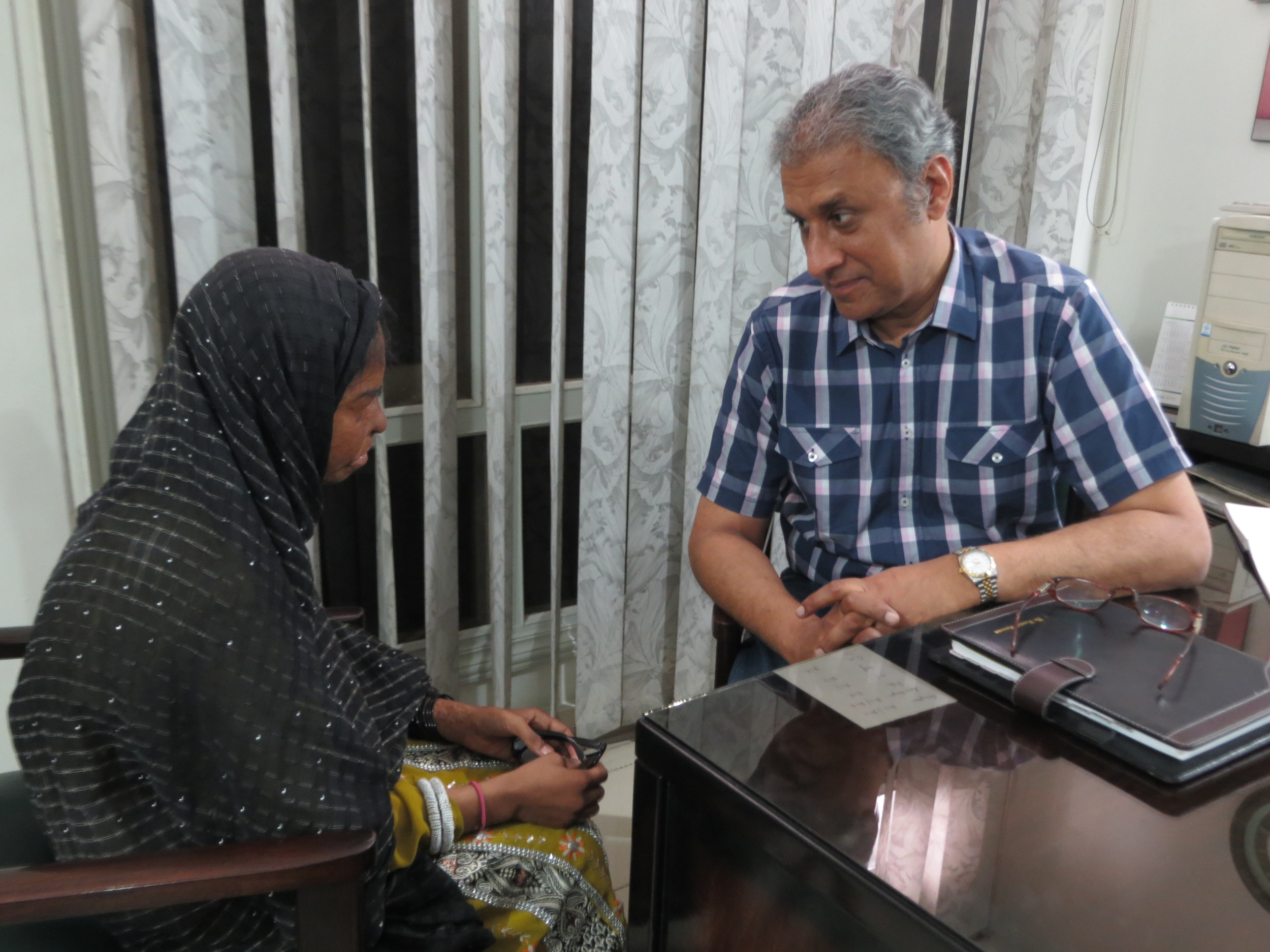Sidra Yasmeen speaks with Dr. Hamid Hassan who has performed two surgeries on her since she was attacked with acid at the age of thirteen.