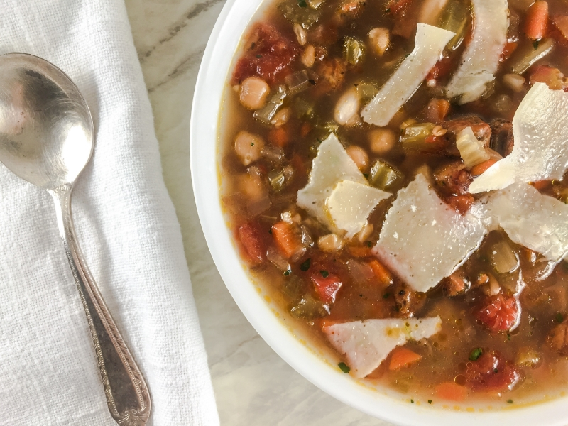 Sid Wainer Chicken Sausage Soup