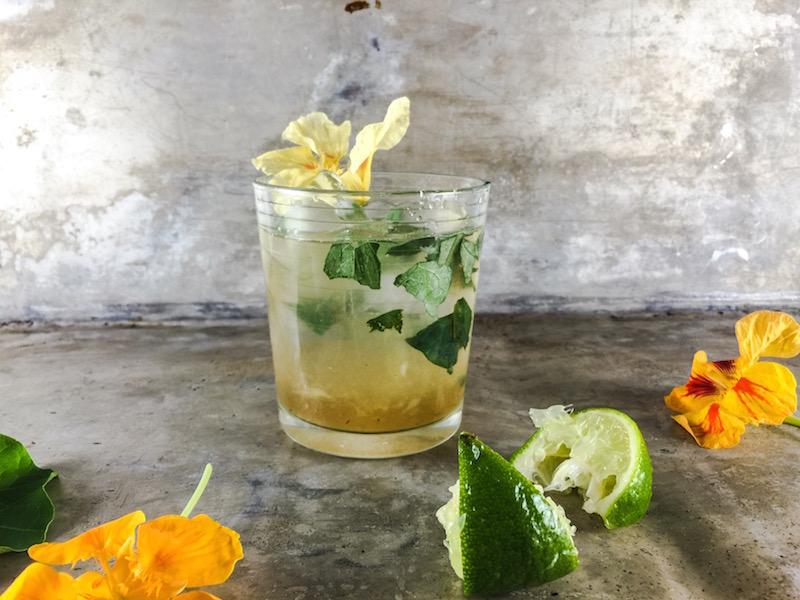 Sid Wainer Nasturtium Blossom Margarita