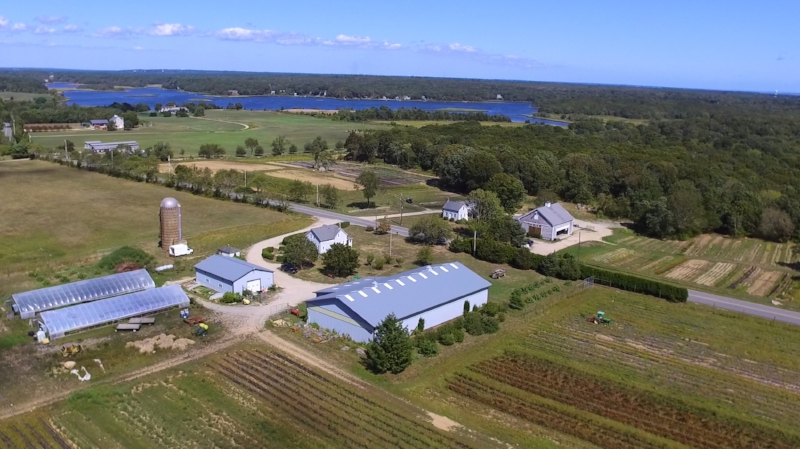 located In the heart of the farmcoast, 1.5 miles from Buzzards Bay, on a sprawling 50 acres