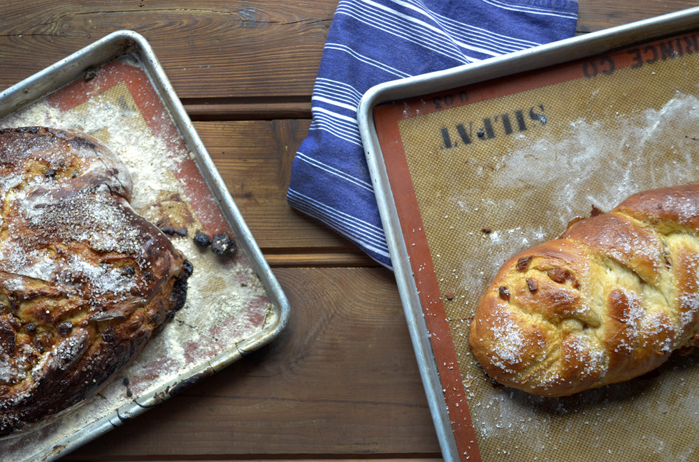 Rosh Hashanah Round Challah — Sid in the Kitchen