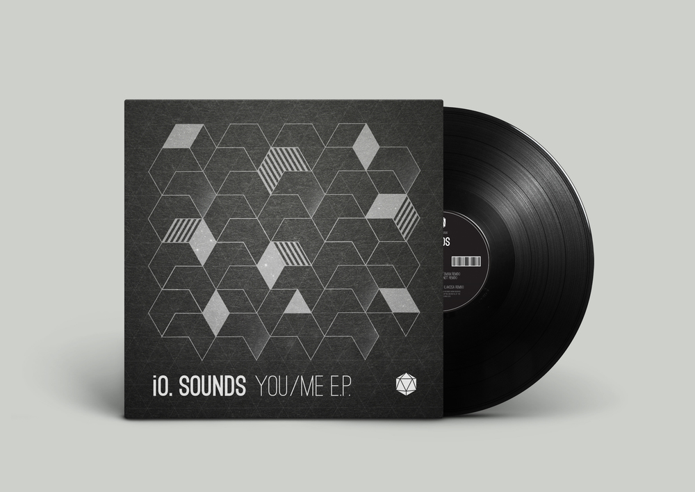 iO Sounds // You/Me Vinyl Artwork