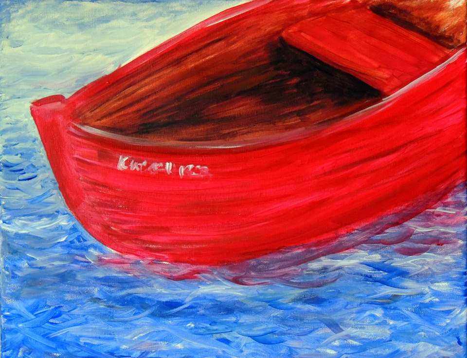 the red boat, Kristen Ward Guerrero