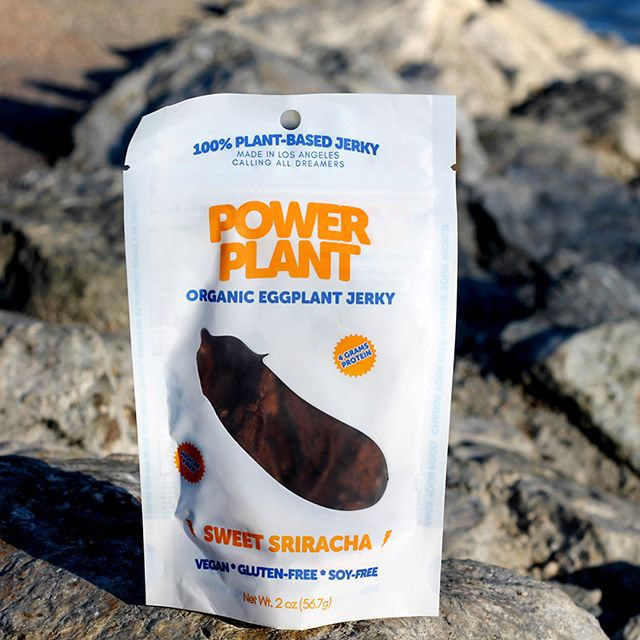 We've come a long way, thank you for your continued support! You can order online (link in the bio), and also check the growing list of stored we are carried in through our website! ⚡️🍆🎉#powerplant #powerplantjerky #eggplant #eggplantjerky #vegan #veggiejerky #yum #healthysnack #sweersriacha #bbq #jerky