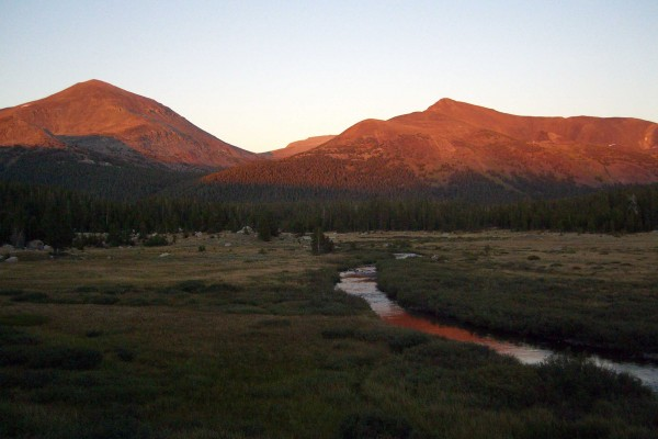 Sunset near Tioga Pass -  PHOTO BY ADAM BLAUERT