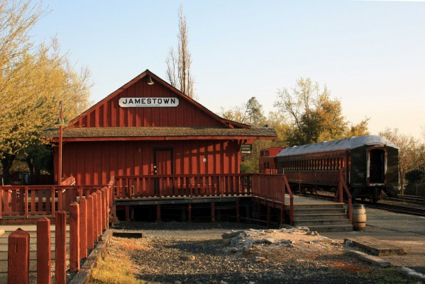 Jamestown Railtown -  PHOTO BY ADAM BLAUERT
