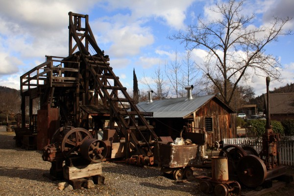 Mariposa History Center Stamp Mill -  PHOTO BY ADAM BLAUERT